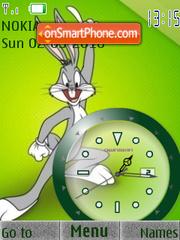 Bugs Bunny2 Clock es el tema de pantalla