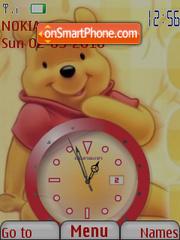 Winnie Clock theme screenshot