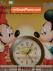 M n M Clock theme screenshot