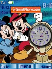 M n M Clock 2 theme screenshot