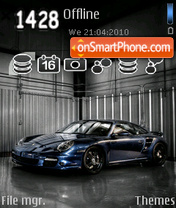 Porsche 326 theme screenshot