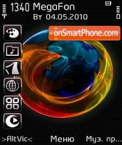 Firefox by Altvic es el tema de pantalla