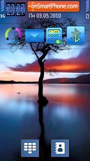 Alone Tree theme screenshot