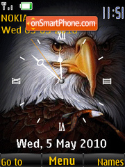 Eagle Clock theme screenshot