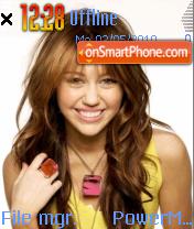 Miley Cyrus 08 theme screenshot