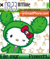 Hellokitty 03 theme screenshot