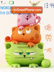 Cute Family theme screenshot