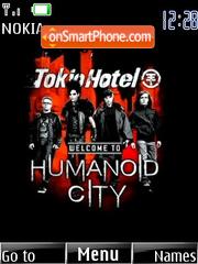 Tokio Hotel Humanoid City es el tema de pantalla