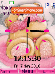4ever Frinds Clock2 theme screenshot