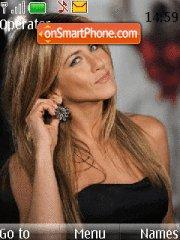 Jennifer Aniston 04 theme screenshot