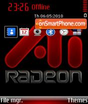 Ati radeon 01 theme screenshot