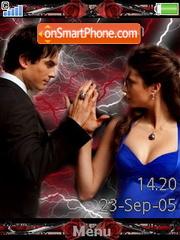 Damon&Elena es el tema de pantalla