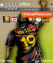 Messi es el tema de pantalla