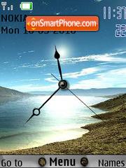 Shore Clock theme screenshot