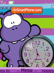 Wippo Clock theme screenshot