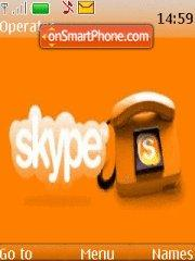Skype theme screenshot