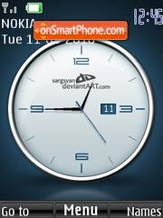 Moderno Clock theme screenshot