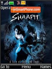 Shaapit (Bollywood) theme screenshot