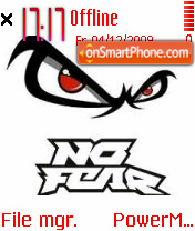 No Fear 02 es el tema de pantalla