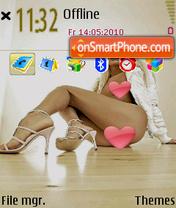 Deffo4ka dy LexoCat tema screenshot