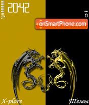 G&B Dragon es el tema de pantalla
