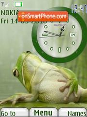 Good Meal Clock theme screenshot