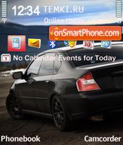Subaru Sunset Red es el tema de pantalla