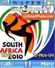 South Africa 2010 es el tema de pantalla