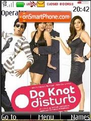 Do Knot Disturb theme screenshot