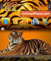 Tigra es el tema de pantalla