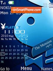 Nokia Playboy 2010 theme screenshot