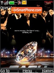 Cash (Bollywood) theme screenshot