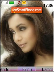 Rani Mukherjee theme screenshot