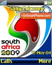 Africa 2009 theme screenshot