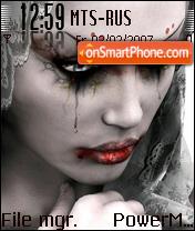 Tears theme screenshot