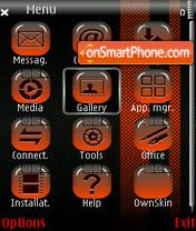 SnakeCoral theme screenshot