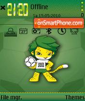 Fifawc2010 es el tema de pantalla