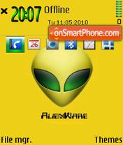 Alienware 09 es el tema de pantalla