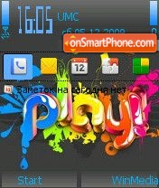 Play by Nokki theme screenshot
