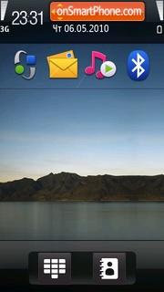 Mini ipad theme screenshot