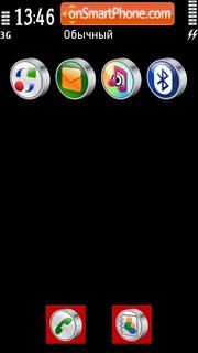 RedBlack 01 es el tema de pantalla