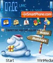Holidays2 by Nokki es el tema de pantalla