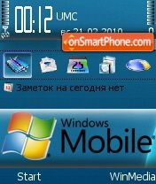 WinMobile theme screenshot