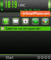 Acid Green SV 7-8.0os theme screenshot