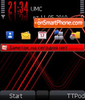 N70 XM Red MrM@nson 7-8.0 os theme screenshot
