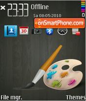 Colorful (blue2) theme screenshot