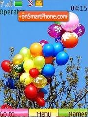 Balloons es el tema de pantalla