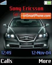Honda Legend es el tema de pantalla