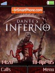 Dantes Inferno es el tema de pantalla