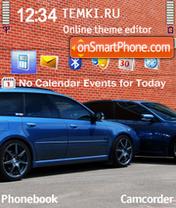 Subaru Bricks es el tema de pantalla